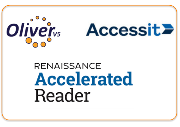 Integrations with Softlink Oliver, Accessit, an Accelerated Reader